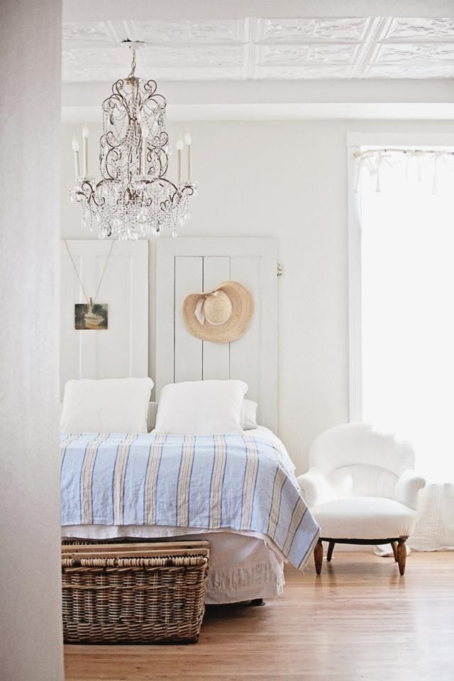 Dreamy White Bedroom | inside home | Pinterest | Design