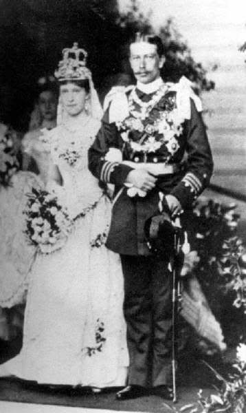 Prince Henry of Prussia and Princess Irene of Hesse-Darmstadt.