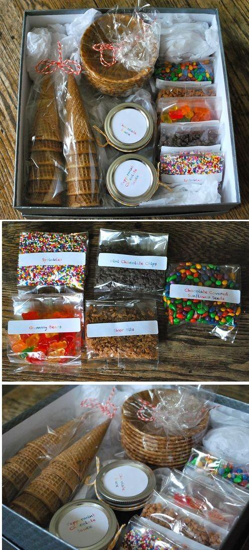 Icecream Sundae Decorating kit