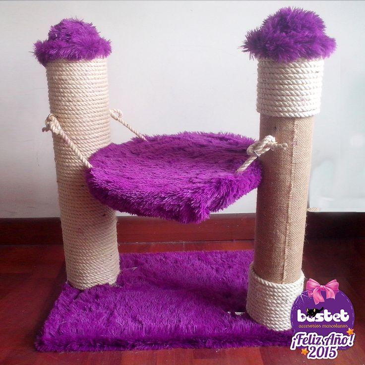 Rascador hamaca para gato en bogot casa para gatos pinterest rascador hamacas y gato - Accesorios para hamacas ...