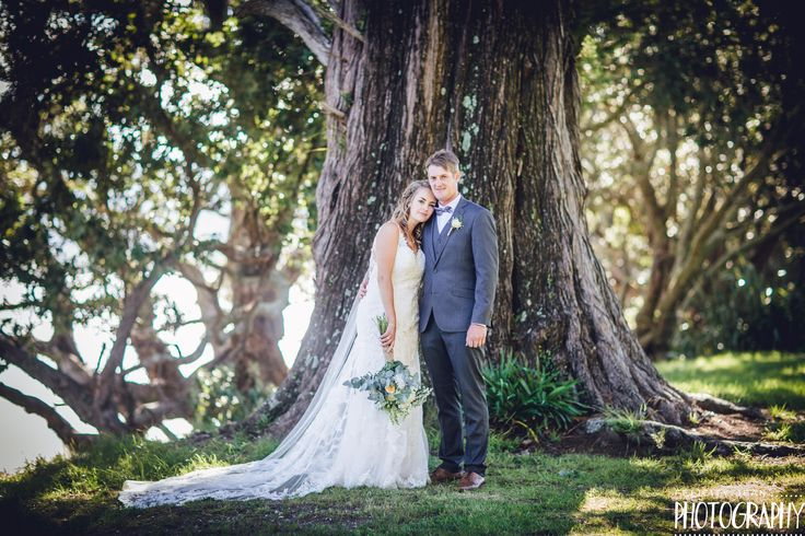 stunning couple married at Lover Rock Whitianga