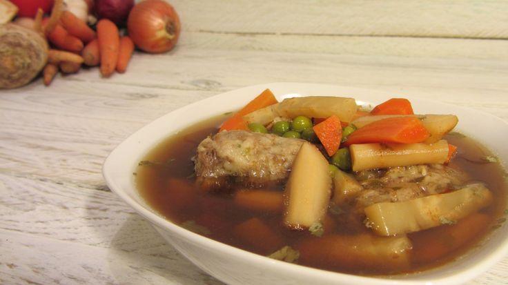 Kacsanyak leves recept