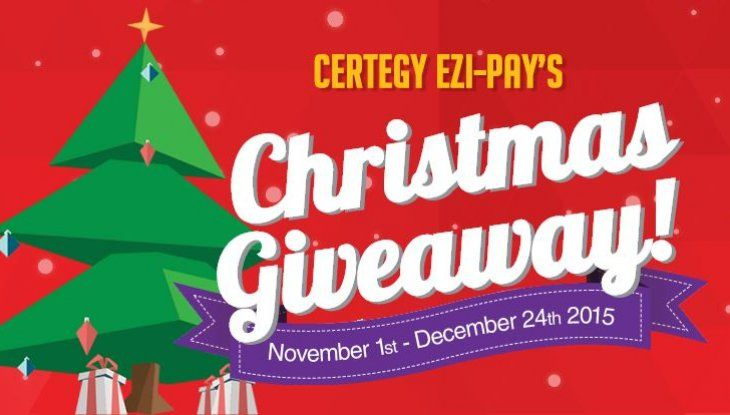 This Christmas Certegy Ezi-Pay's is celebrating their biggest giveaway. How about a Mini Cooper F56 for under your Christmas tree, a $24,000 travel voucher, or even $20,000 in cash. Register your details for your chance to win. But hurry, competition ends on the 24th.