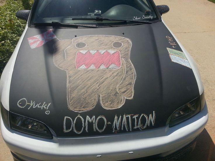 Paint Car With Rustoleum Chalk