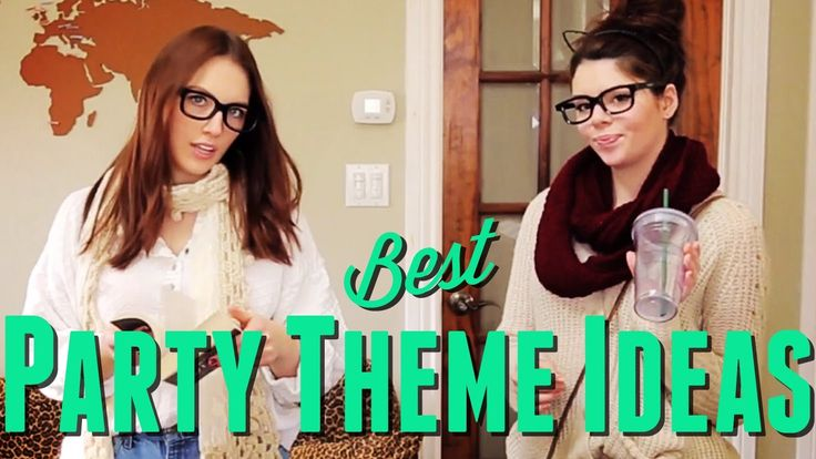 These are some pretty cool party themes! Would you use one at your next  party? https://youtu.be/xwm-c6nXEeI | Nomads and Nature | Pinterest | Theme  ideas, ...