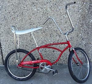 """Schwinn Stingray 20"""" Boys Bike Red Polo Bicycle"""