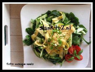 Spinazie-omelet - Slank4u2
