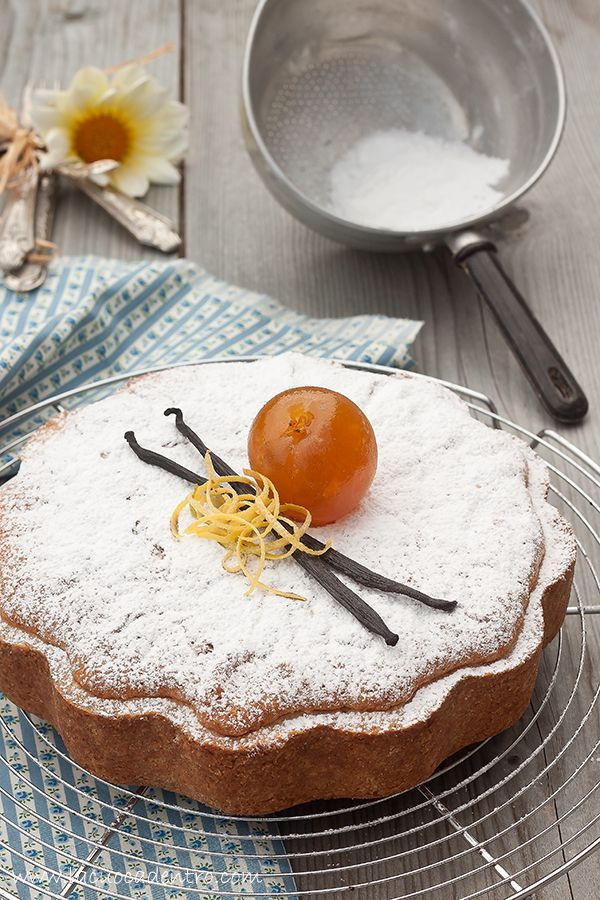 torta morbida all'albicocca - soft apricot cake