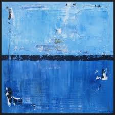 Big blue art x