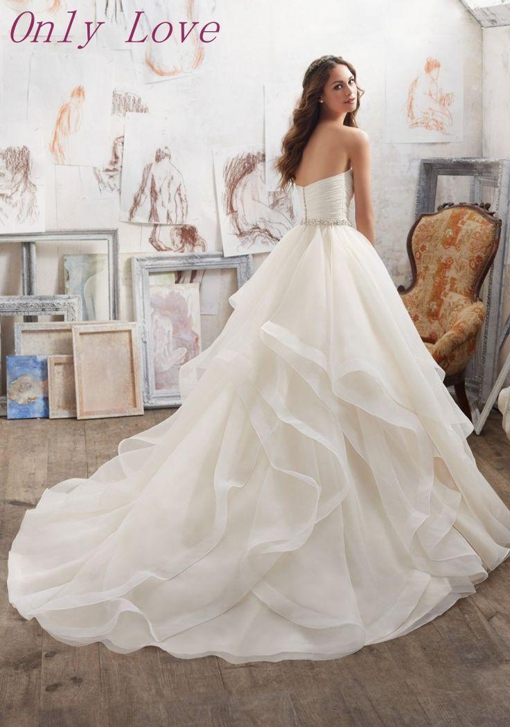 64 mejores imágenes de vestidos de novia en Pinterest   Bodas, Ideas ...