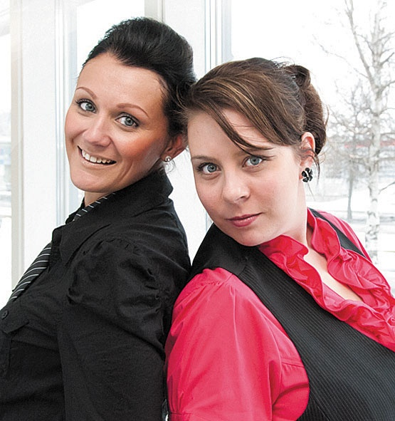 Marketing Director Mirva Saarijärvi and Business Development Director Jessica Säilä - European Business Journal interviewed us. Feeling like a celebrity! ;)