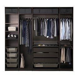 PAX Wardrobe - standard hinges - IKEA