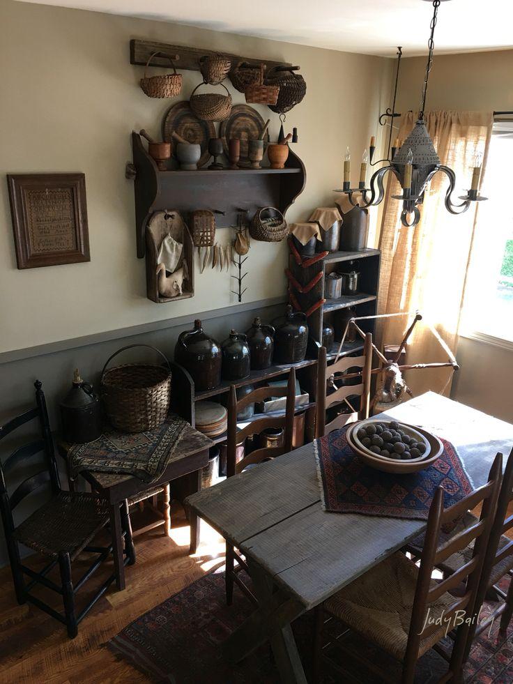 My Home. Primitive Dining RoomsPrimitive ...