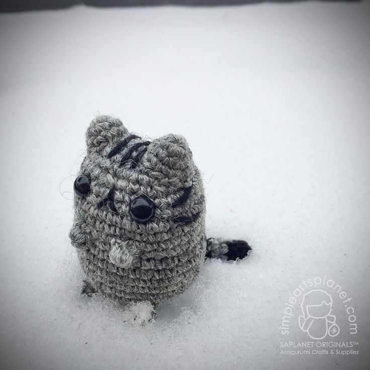 Pusheen Knitting Pattern : 17 Best images about free pattern crochet on Pinterest ...