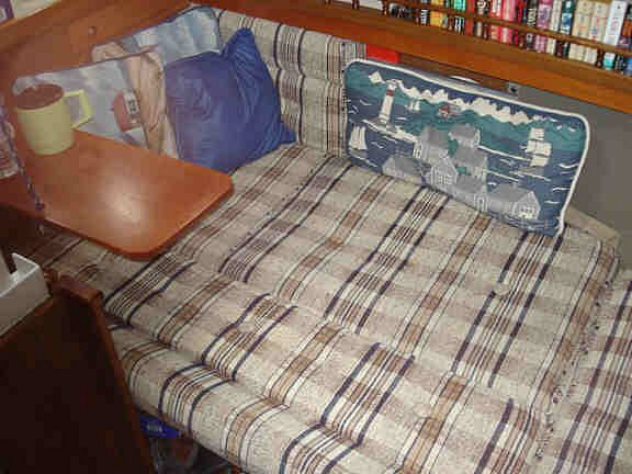 Make New Boat Cushions Using An Ultrafeed Sewing Machine. Get The Foam,  Sewing Machine