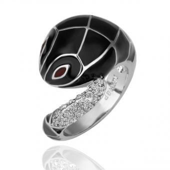 Cobra 18 Karat Gold Plated Ring
