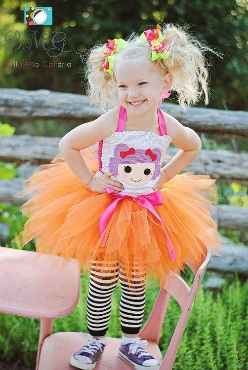 Girls Posh Peanut Big Top Lalaloopsy Birthday Halloween Dress Up Halter Set