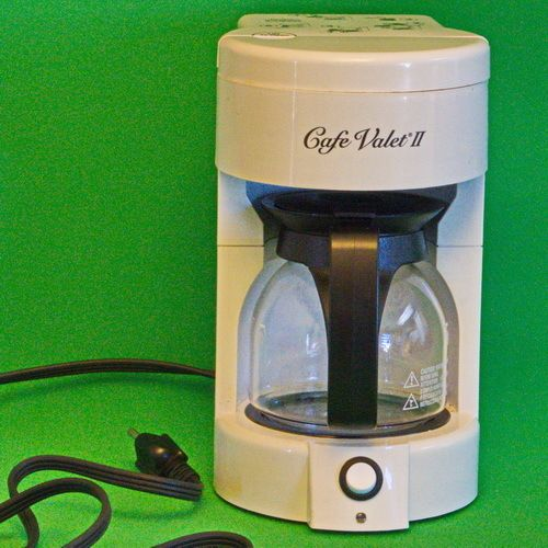 Hamilton Beach Cafe Valet II 1-4 Cup Coffee Maker, Model D40205