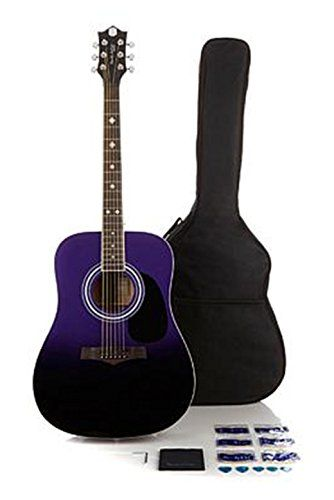 Randy Jackson Studio Series Ombre Acoustic 15piece Guitar Package Purple >>> You can get additional details at the image link.Note:It is affiliate link to Amazon.