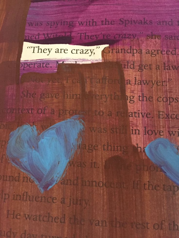 art journal...colors and words/book