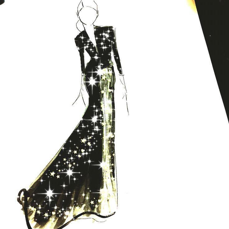#gown #couture #fashion #fashionillustration #Sydney