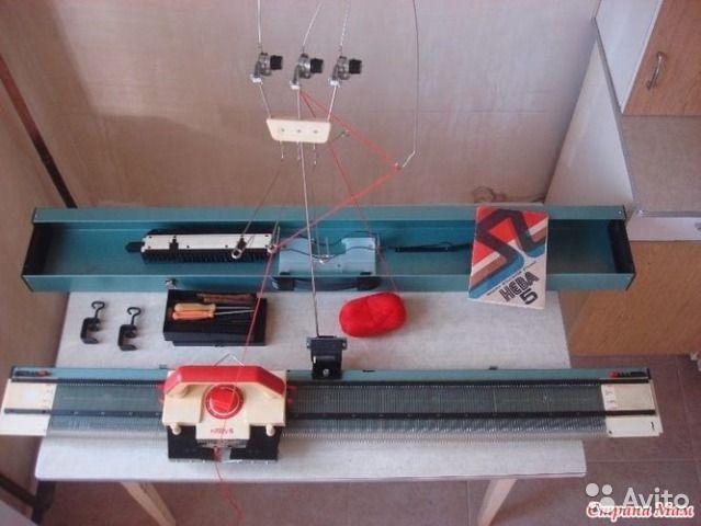 Вязальная машина Нева 5— фотография №1 пример как выглядит