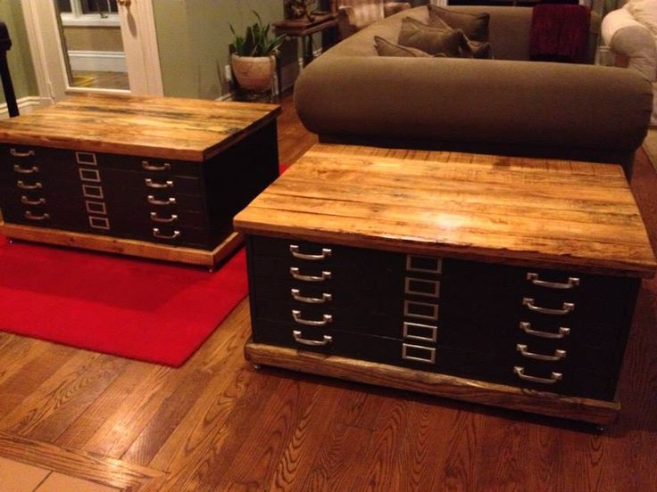 Coffee Table Storage! Perfect for the family room. Store board games, art, magazines, and all of the remote controls!