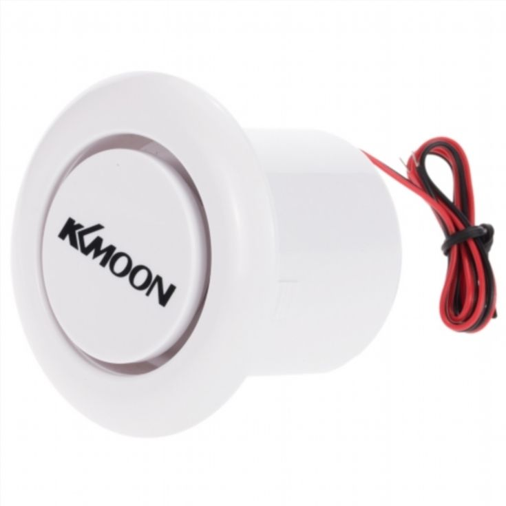 KKmoon  Super Loud Alarm Siren Horn Outdoor  for Home House Alarm System Security