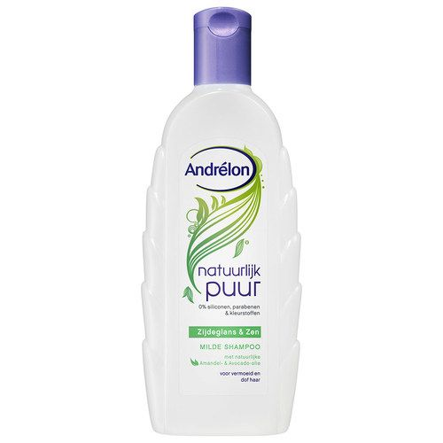 Andrelon Shampoo - Pure Nature Silk & Zen (300ml)