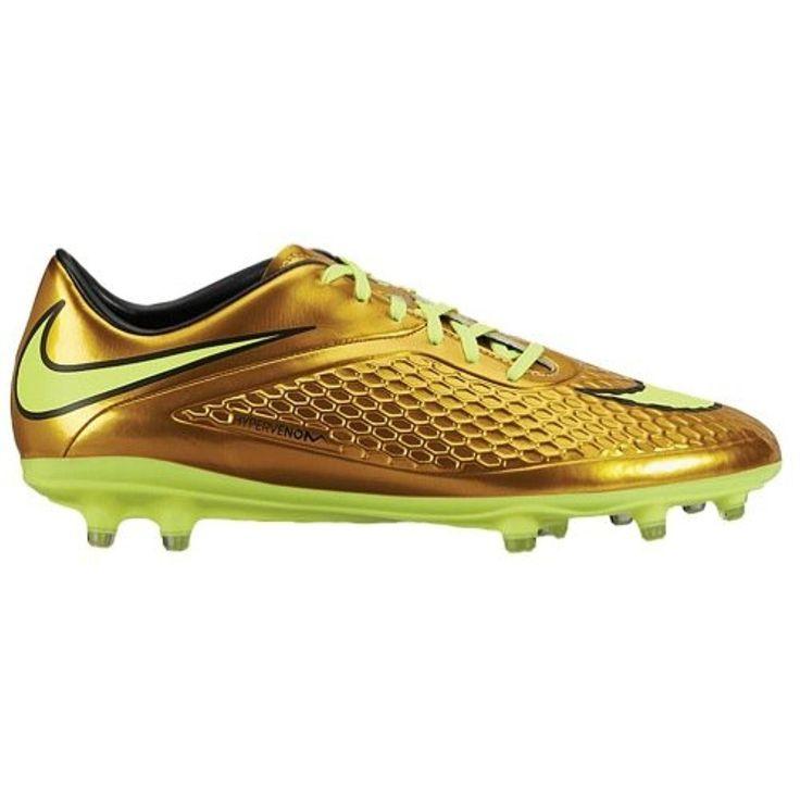 Nike Men's Hypervenom Phelon FG Neymar Soccer Cleats - Metallic Gold (7.5)  - Brought