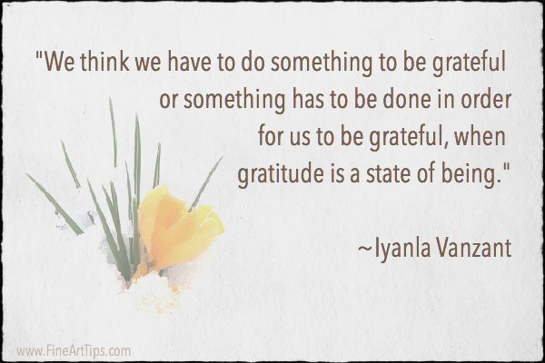 The Relationship Between Gratitude and Creativityhttp://www.finearttips.com/2015/11/the-relationship-between-gratitude-and-creativity/
