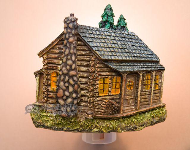 Southwestern Night Light -Cabin (http://www.missiondelrey.com/southwestern-night-light-cabin-4/)