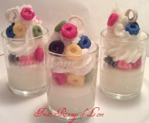Fruit Rings of Love Cupcake Votives  www.sweetlovecandles.com