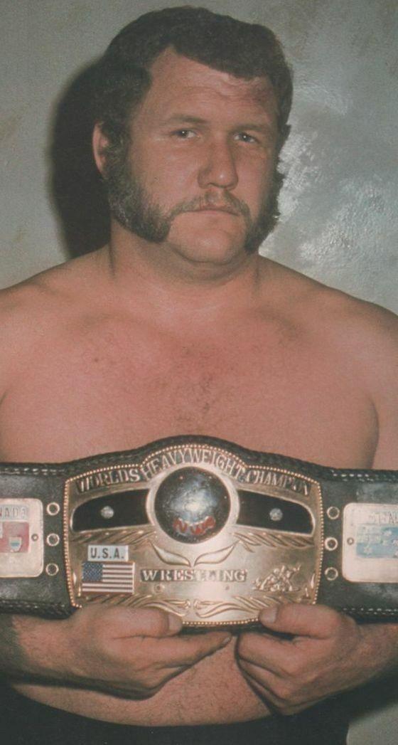 NWA Heavyweight Champion Harley Race