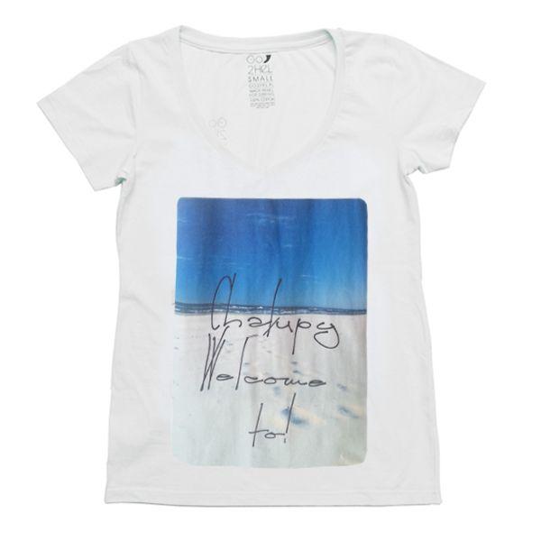our surf tshirt for girls Chalupy welcome to: http://g2h.pl/damska-odziez/damskie-koszulki/bia%C5%82y-damski-tiszer-chalupy-weldome-to