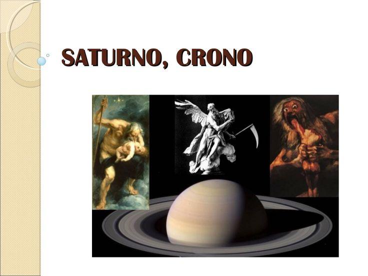 Saturno, Cronos