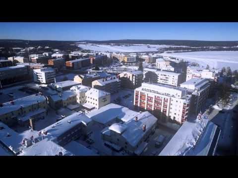Rovaniemi in Lapland in Finland by air