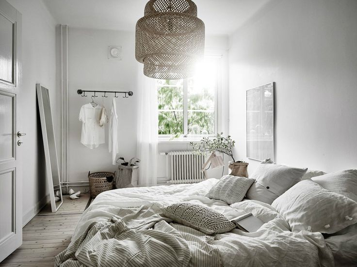Photo by Anders Bergstedt of white bedroom