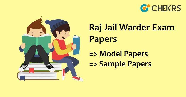 Jail Prahari Exam Paper Pdf