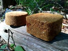 Fortified Molasses Deer Block. This recipe is packed with oats, corn meal, brown sugar, and of course molasses!