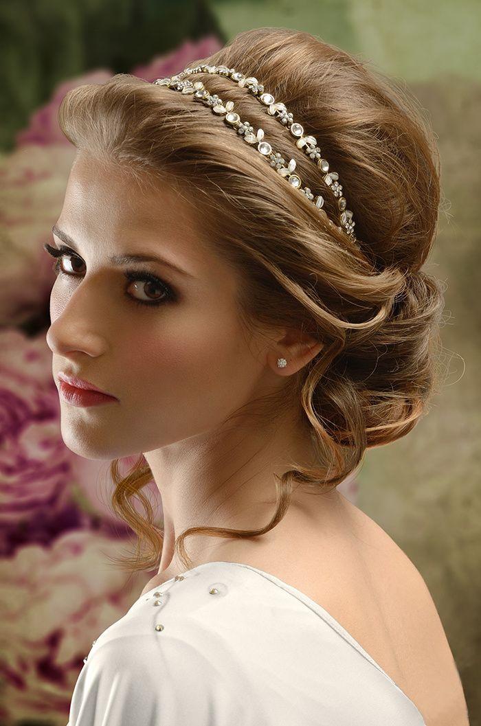 Свадебные тенденции сезона 2014, Образ невесты, Свадебные прически и макияж