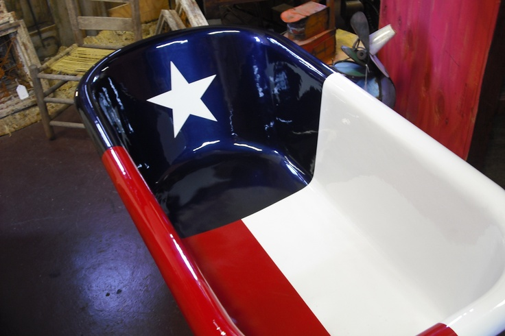 Texas flag custom cast iron bath tub   Future home     Pinterest   Bath  tubs  Flags and Texas. Texas flag custom cast iron bath tub   Future home     Pinterest