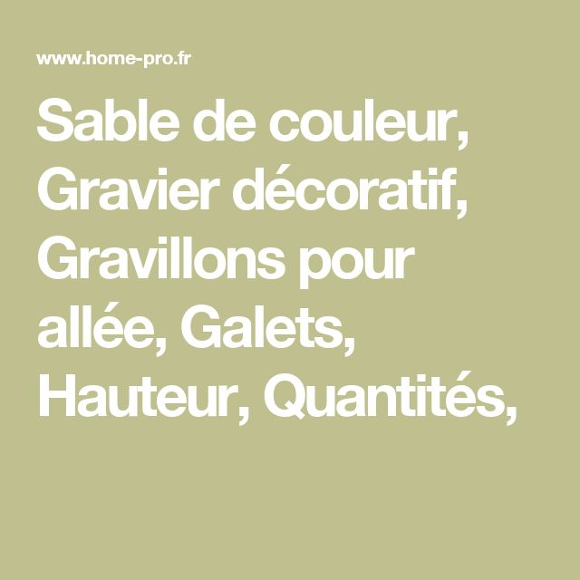 17 meilleures id es propos de gravier pour all e sur pinterest gravier de jardin gravier et. Black Bedroom Furniture Sets. Home Design Ideas