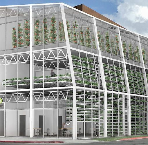 3 | A Vacant Lot In Wyoming Will Become One Of The World's First Vertical Farms…