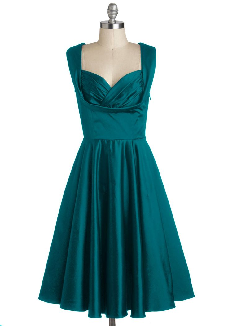 Aisle Be There Dress in Dragonfly. You make a most glamorous bridesmaid wearing this elegant dress by Trashy Diva. #green #wedding #bridesmaid #prom #modcloth