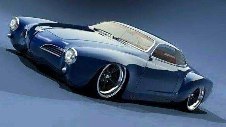 VW Karman Ghia imagined