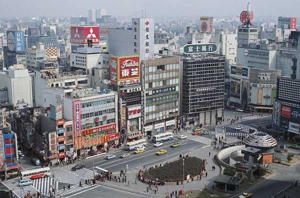 東京・新宿駅東口