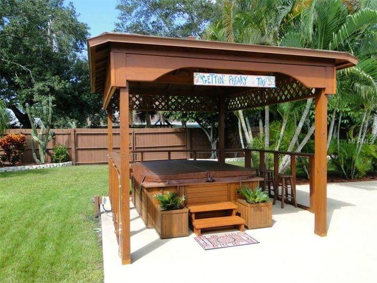 Die besten 25 whirlpool pavillon ideen auf pinterest whirlpool garten whirlpool pergola und - Whirlpool pavillon ...