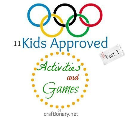 Summer Olympic Games for Kids (Part 1) - Craftionary