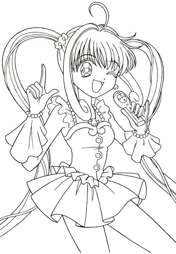 Coloring Pages Mermaid Melody